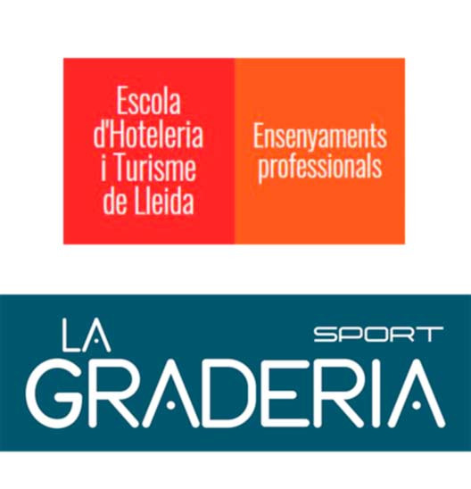 escola , hosteleria, lleida, graphink , la graderia , serigrafia en Lleida, mad marketing ,